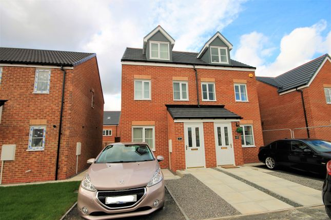 Thumbnail Semi-detached house to rent in Sorrel Close, Shotton Colliery