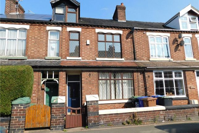Thumbnail Terraced house for sale in Princes Road, Penkhull, Stoke-On-Trent