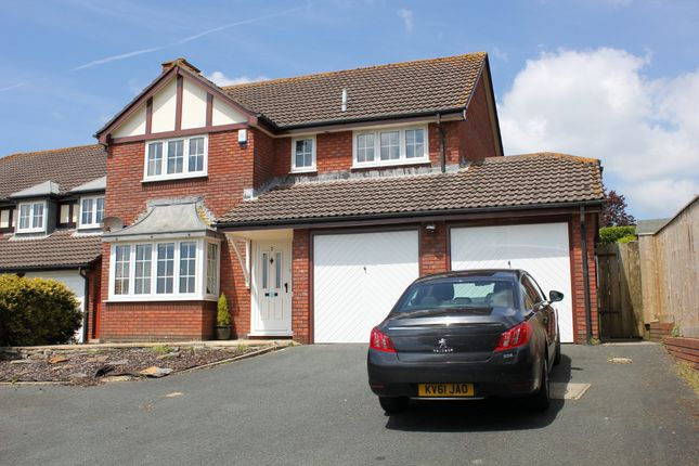 Thumbnail Detached house to rent in Philip Gardens, Plymstock, Plymouth, Devon