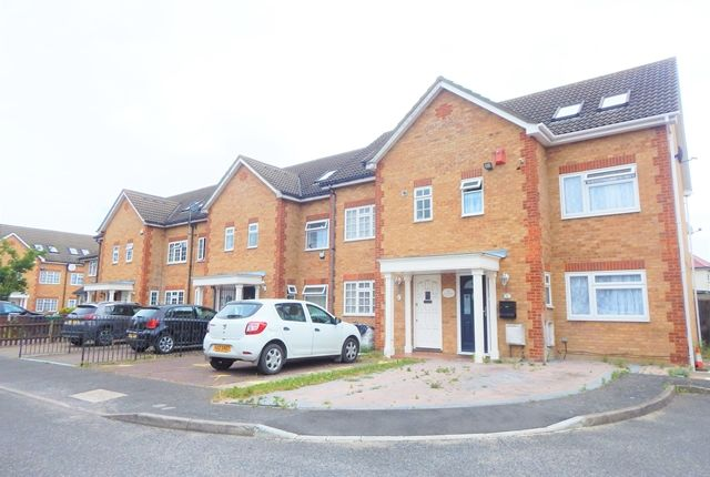 Thumbnail Town house to rent in Veals Mead, Mitcham, Surrey