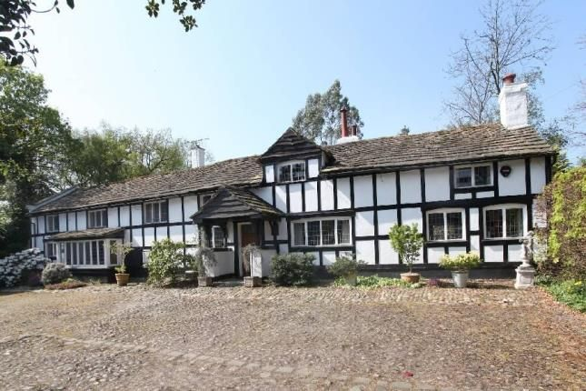Thumbnail Detached house for sale in Castle Hill, Prestbury, Macclesfield, Cheshire
