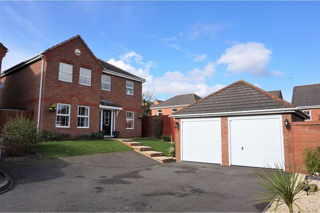 Thumbnail Detached house for sale in Shetland Avenue, Tamworth