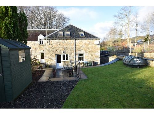 Thumbnail End terrace house to rent in The Steading, Donavourd