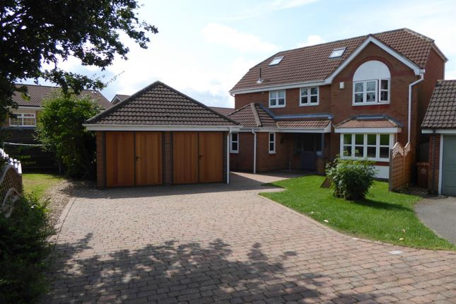 Thumbnail Detached house for sale in Hermitage Park Way, Newhall, Swadlincote
