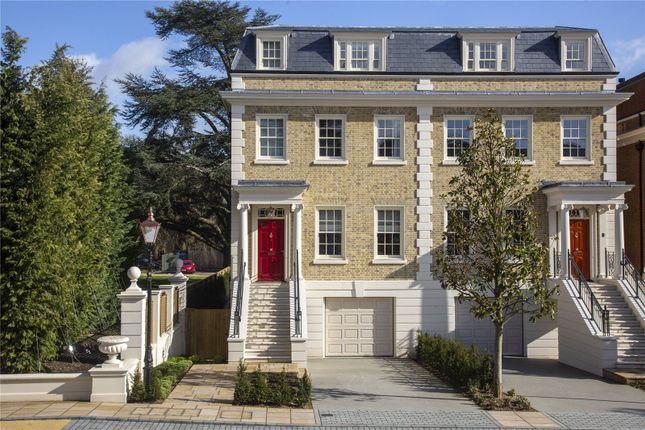 Thumbnail Semi-detached house for sale in Magna Carta Park, Englefield Green, Egham, Surrey