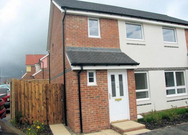 Thumbnail Semi-detached house to rent in Hindmarsh Drive, Barley Rise, Ashington