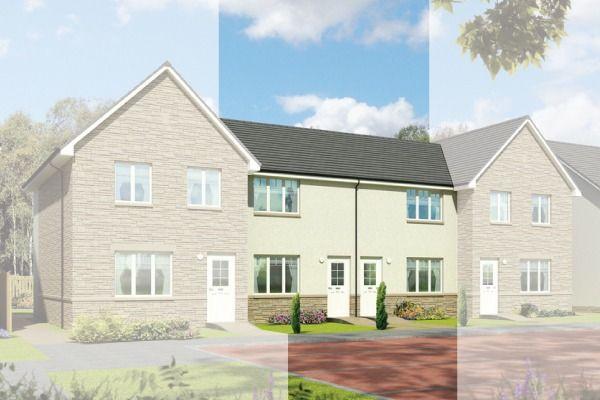 Thumbnail Terraced house for sale in The Morven, Rumblingwell, Dunfermline, Fife