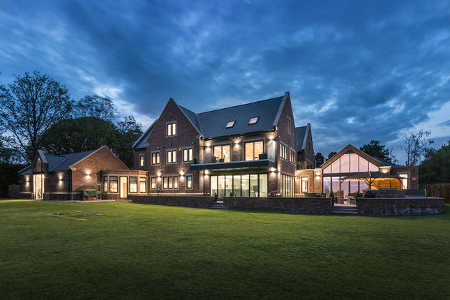 Thumbnail Detached house for sale in Brooklands, Tranwell Woods, Morpeth, Northumberland