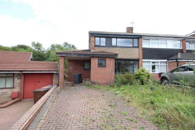 Thumbnail Semi-detached house for sale in St. Michaels Road, Hyde
