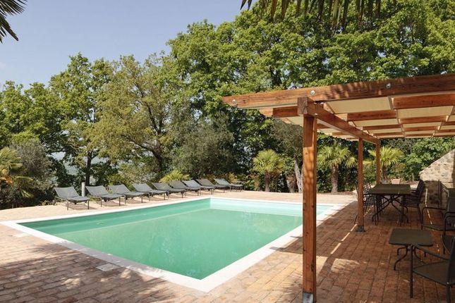 Pool Side of Casa Montecastelli, Umbertide, Umbria
