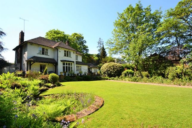 Thumbnail Detached house for sale in The Spinney, Walkden Road, Worsley, Manchester