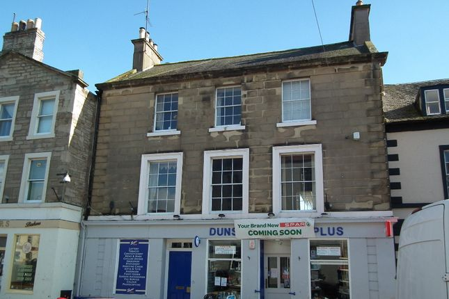Thumbnail Town house for sale in Market Square, Duns