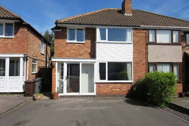 Thumbnail Semi-detached house to rent in Studley Croft, Solihull