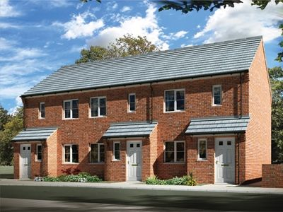 """Thumbnail End terrace house for sale in """"The Penrith"""" at Station Road, North Hykeham, Lincoln"""