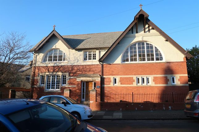 Front of Woodland Hall, Woodland Place, Penarth CF64