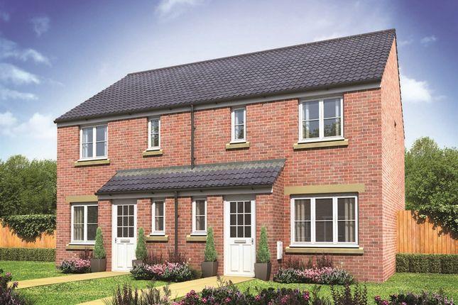 "3 bedroom terraced house for sale in ""The Hanbury"" at Mount Pleasant, Framlingham, Woodbridge"
