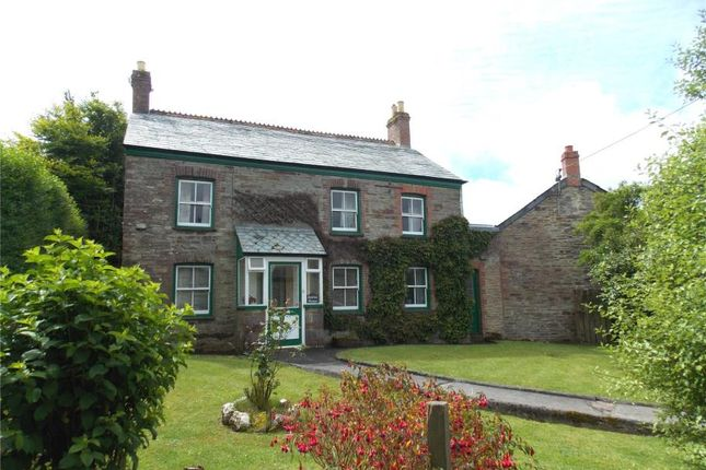 Thumbnail Detached house for sale in East Taphouse, Nr Liskeard, Cornwall