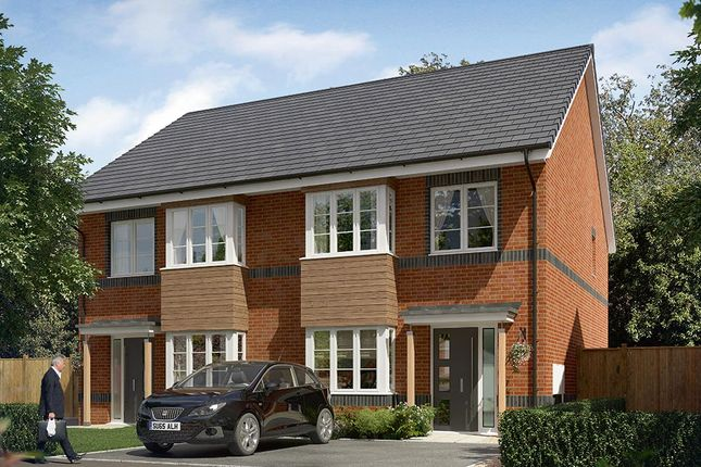 "Thumbnail Semi-detached house for sale in ""The Kilmington "" at Cobblers Lane, Pontefract"