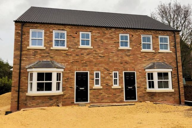 Thumbnail Semi-detached house for sale in Wharf Road, Crowle, Scunthorpe