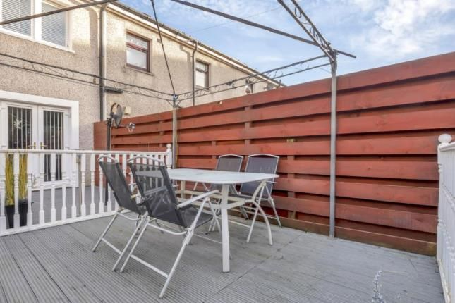 Decking Area of Mitchell Avenue, Cambuslang, Glasgow, South Lanarkshire G72