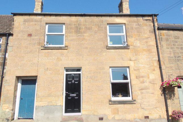 Thumbnail Terraced house for sale in Main Street, Felton, Morpeth