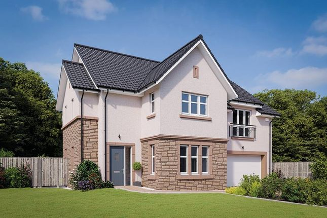 "Thumbnail Detached house for sale in ""The Logan"" at Kelvinvale, Kirkintilloch, Glasgow"