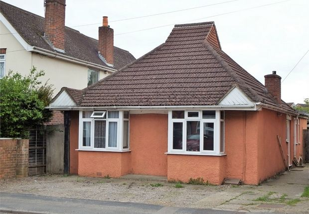 Thumbnail Detached bungalow for sale in Rectory Road, Farnborough, Hampshire
