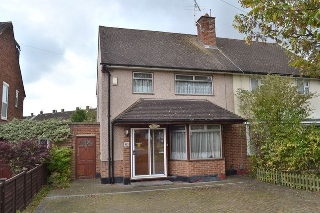 Thumbnail Semi-detached house for sale in High Road, Leavesden, Watford