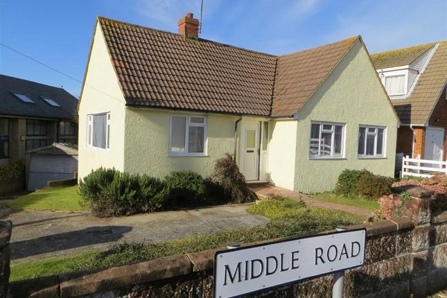 Thumbnail Detached bungalow for sale in Middle Road, Hastings, East Sussex