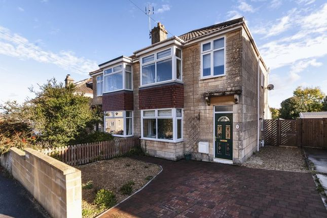 Thumbnail Semi-detached house for sale in Stirtingale Road, Bath