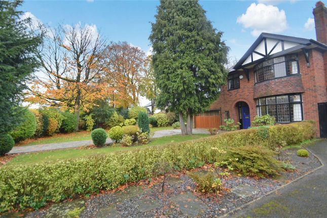 Thumbnail Detached house for sale in Bramhall Lane, Davenport, Stockport, Cheshire