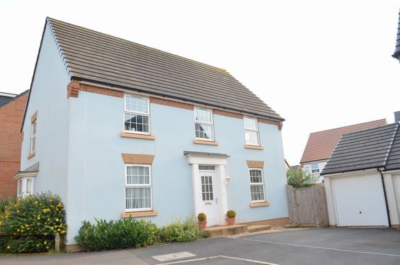 Thumbnail Detached house for sale in Swallow Way, Cullompton