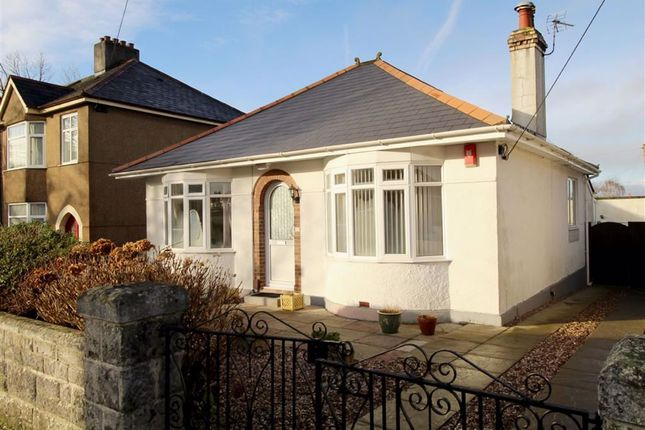 Thumbnail Detached bungalow for sale in Cross Park Avenue, Crownhill, Plymouth