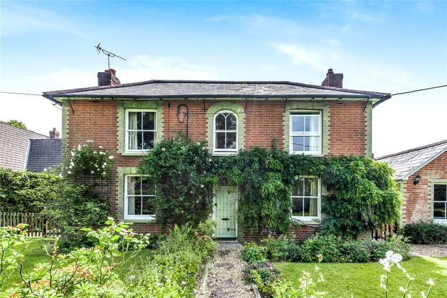 Thumbnail Detached house for sale in Canada Road, West Wellow, Romsey