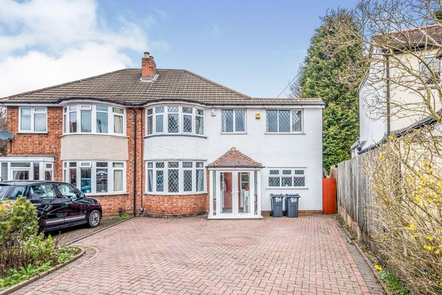 Thumbnail Semi-detached house for sale in Coppice View Road, Sutton Coldfield