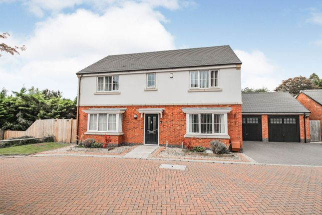 Thumbnail Detached house for sale in Somerset Drive, Duston, Northampton