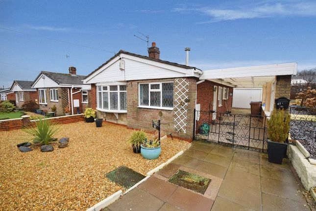 Thumbnail Detached bungalow for sale in Norbury Avenue, Milton, Stoke-On-Trent