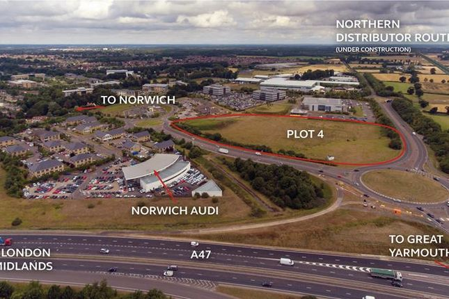 Thumbnail Office for sale in Broadland Business Park, Plot 4, Old Chapel Way, Norwich