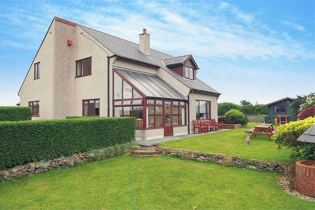 4 bed detached house for sale in Bryngwran, Holyhead, Anglesey