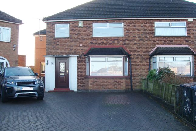 Thumbnail Semi-detached house for sale in Foxland Avenue, Rednal