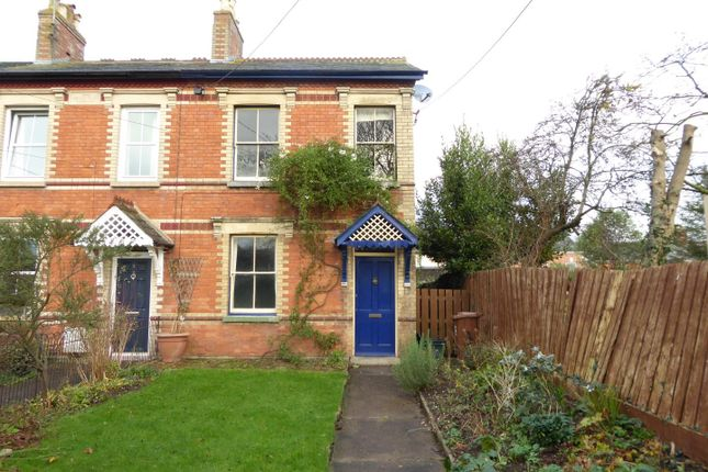 Thumbnail Semi-detached house to rent in Brickfield Terrace, Tiverton