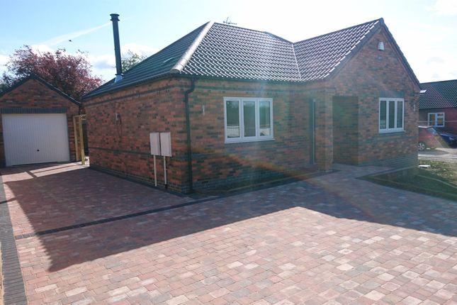 Thumbnail Detached bungalow for sale in Hortons Close, Glen Parva, Leicester