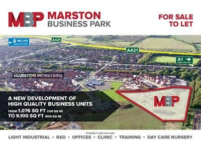 Thumbnail Commercial property for sale in Unit 8, Marston Business Park, Marston Moretaine, Bedfordshire