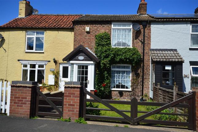 Thumbnail Terraced house to rent in Bridlington Road, Burton Fleming, Driffield