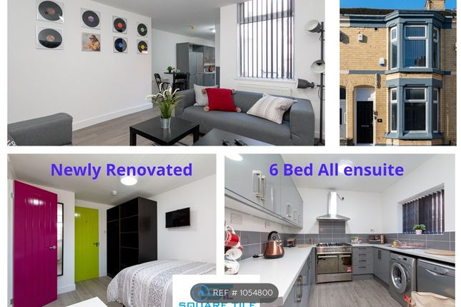 Thumbnail Terraced house to rent in Saxony Road All Ensuite, Kensington, Liverpool