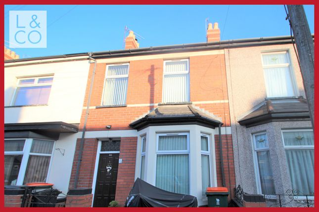 Thumbnail Terraced house to rent in Walsall Street, Newport
