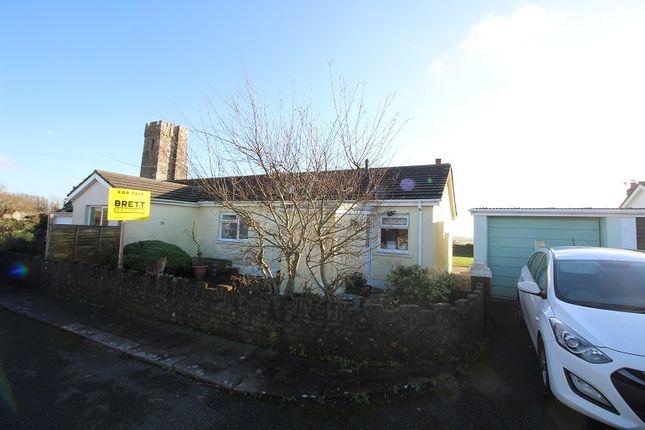 Thumbnail Semi-detached house for sale in Meadow Bank, St. Twynnells, Pembroke, Pembrokeshire