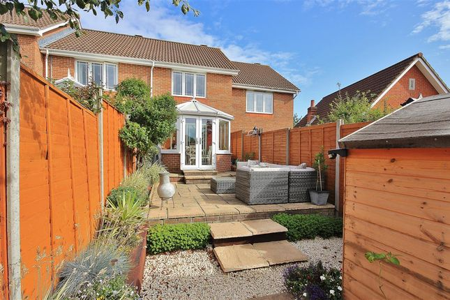 Thumbnail Terraced house for sale in Alder Heights, Branksome, Poole