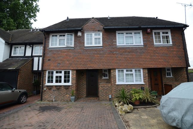 Thumbnail Terraced house for sale in Cottage Field Close, Sidcup