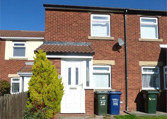 2 bed terraced house to rent in Harbottle Court, Newcastle Upon Tyne NE6